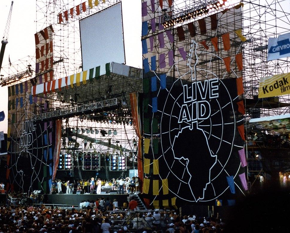 Live Aid at JFK Stadium, Philadelphia, PA