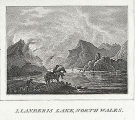 Llanberis Lake, North Wales