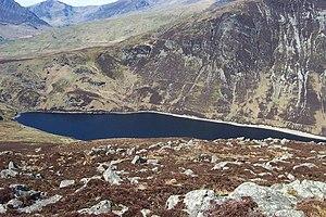Llyn Cowlyd - Llyn Cowlyd viewed from the summit of Creigiau Gleision