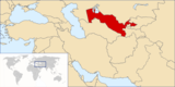 Uzbekistán en el mundo
