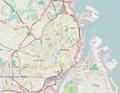Location map Denmark Copenhagen.png