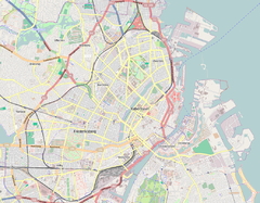2015 Copenhagen shootings is located in Copenhagen