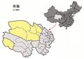 Location of Haixi Prefecture within Qinghai (China).png