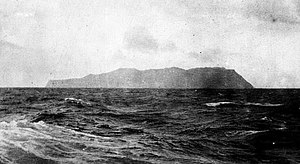 Île aux Cochons - Île aux Cochons photographed from on Loch Etive in between 1885 and 1911.