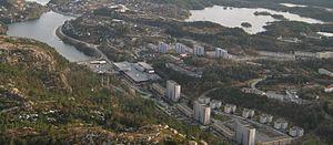Laksevåg - Central Loddefjord
