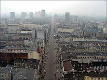 Lodz - ul. Piotrkowska widok w strone poludniowa.JPG