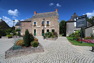 Lohéac Commune in Brittany, France