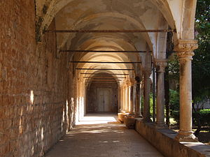 The Ghost of Harrenhal - The Benedictine monastery of Lokrum was used as a Qartheen garden.