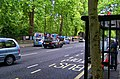London - Bayswater Road - View SW on Hyde Park Fence transformed on Sundays into Montmartre.jpg