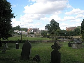 Looking from St Peter, Easthope back to the village - geograph.org.uk - 1447531.jpg