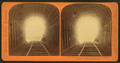 Looking out of the tunnel at Livermore Pass, Alameda County, Western Pacific Railroad, by Thomas Houseworth & Co..png