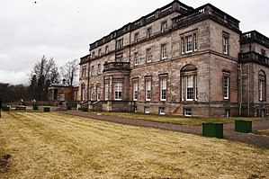 James Balfour (died 1845) - Whittingehame House, Balfour's mansion in East Lothian, Scotland