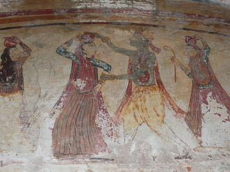 Payal, India - Lord Krishna with Gopi's