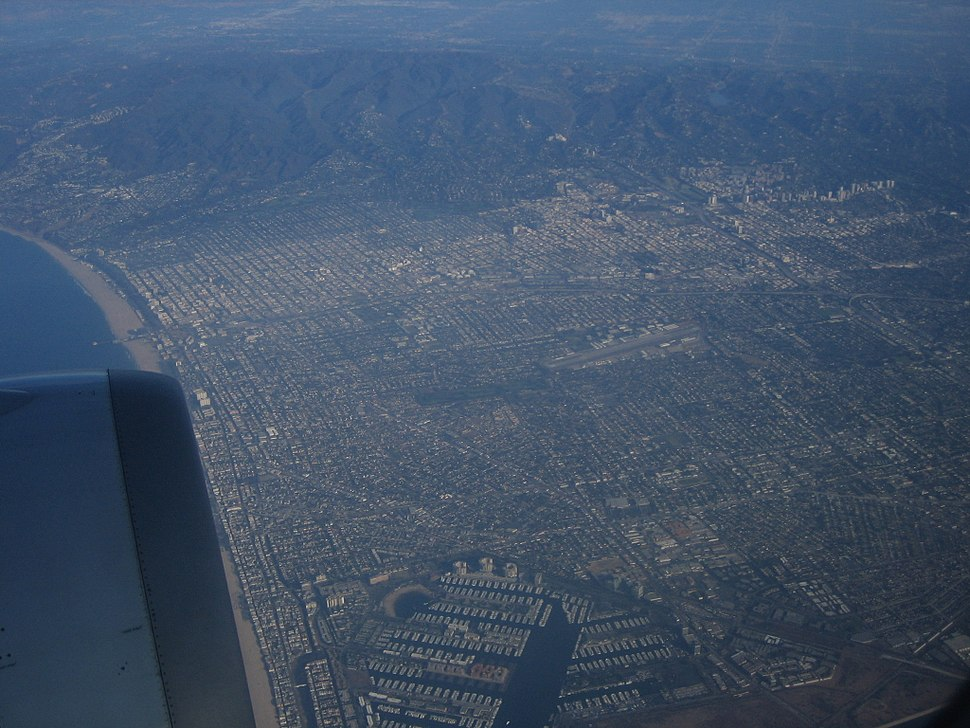 Los Angeles 20000ft