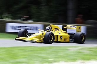 Lamborghini - The 1990 Lotus 102 featured a Lamborghini V12.