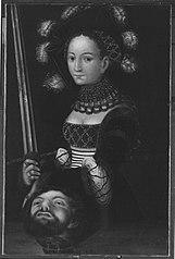 Judith mit dem Haupt des Holofernes (Kopie nach)