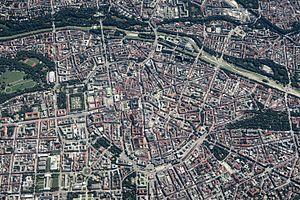 Altstadt-Lehel - Aerial image of Altstadt-Lehel