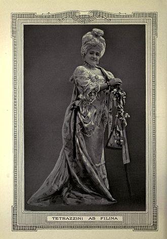 Luisa Tetrazzini - Luisa Tetrazzini as Filina in Mignon