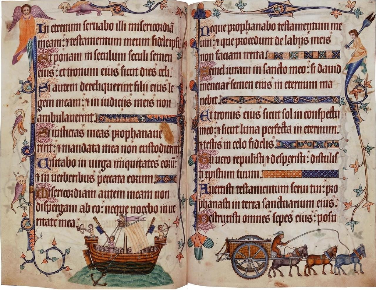 File Luttrell Psalter Pdf Wikimedia Commons