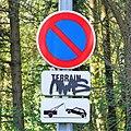 Luxembourg road sign C,18 terrain privé-dépanneuse.jpg