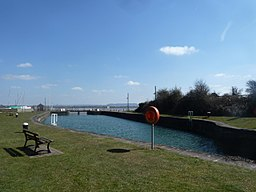 Lydney Harbour outer basin