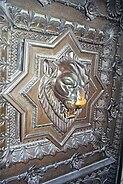Lyon lion door knocker