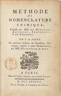 Méthode de nomenclature chimique cover