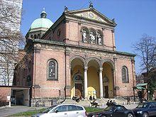 Chiesa di Santa Ursula (Monaco di Baviera) in via Kaiser