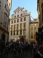Měšťanský dům U pěti korun (Staré Město), Praha 1, Melantrichova 11, Staré Město.JPG