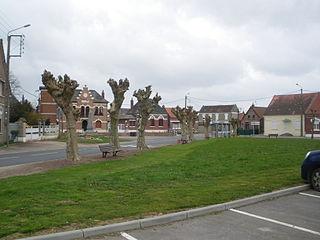 Mœuvres Commune in Hauts-de-France, France