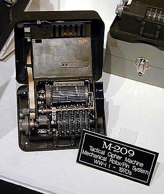 Boris Hagelin - An M-209 designed by Hagelin