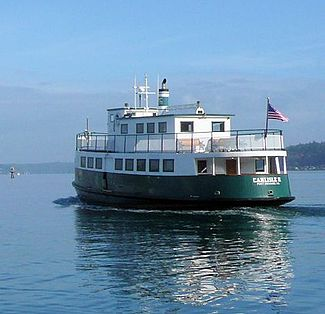 Carlisle II departing from Port Orchard, October 2010.