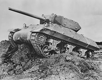 3-inch Gun M1918 - M10 tank destroyer, sporting the 3-inch M7.