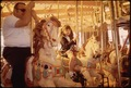 MERRY-GO-ROUND AT AMUSEMENT PARK - NARA - 543213.tif