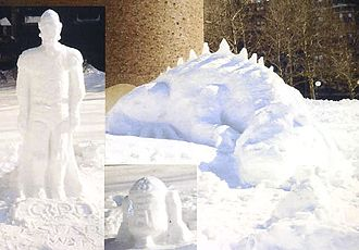 Northeastern United States blizzard of 1978 - While the Massachusetts Institute of Technology was closed, students created other projects.