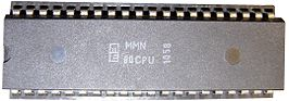 Microelectronica MMN80-processor