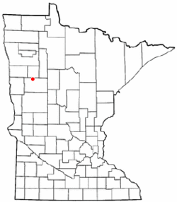 Location of White Earth, Minnesota