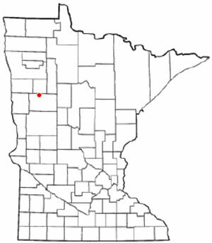 White Earth, Minnesota - Image: MN Map doton White Earth