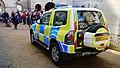 MOD Police, Mitsubishi Shogun GLX, London (20707995443).jpg