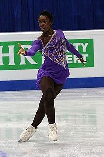 Maé-Bérénice Méité French figure skater