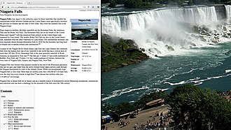 OS X El Capitan - An example of the split screen view in OS X El Capitan
