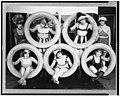 Mack Sennett girls in costumes posed with tires LCCN92522665.jpg