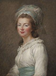Portrait d'Élisabeth Philippine Marie Hélène de France, par Vigée Le Brun, 4e quart du 18e siècle, Versailles ; musée national du château et des Trianons