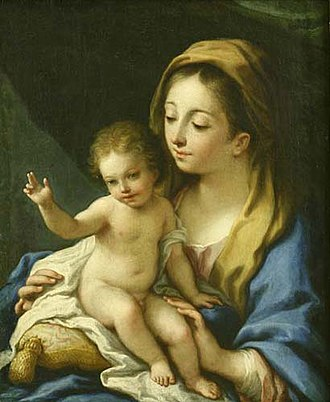National Gallery for Foreign Art - Image: Madonna and Child Correggio