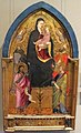 Maestro del cristo docente, madonna col bambino tra santi, firenze, 1390 ca..JPG