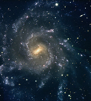 Visible Multi Object Spectrograph - Image: Magnificent Spiral Galaxy NGC 7424