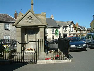 Magor, Monmouthshire large village in Monmouthshire, south east Wales, UK
