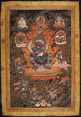 Mahakala and Companions