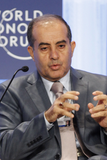 Prime Minister of the Libyan Republic, one of two entities currently 2011 Libyan civil war