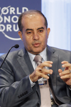 Mahmoud Jibril - World Economic Forum Special Meeting on Economic Growth and Job Creation in the Arab World cropped GNC.png